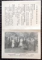 PAD. 313. Calendrier Meilleurs Vœux Pour 1985 Du P.S.C Du Grand Dour - Calendriers