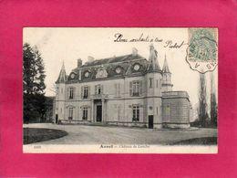 28 Eure Et Loir, Annet, Château De Louche, 1904, Cachet Train De Nuit De Reims à Paris, () - Anet