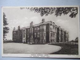 LEEDS / TEMPLE NEWSAM / THE MANSION , NORTH WEST / JOLIE CARTE 1929 - Leeds