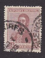 Argentina, Scott #313, Used, San Martin, Issued 1922 - Argentine