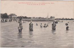 Loire  Atlantique :  LE  POULIGUEN  : Le  Moment  Du  Bain - Le Pouliguen