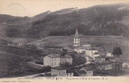 42 / ECOCHE / VUE GENERALE ET ROUTE DE CADOLON - France