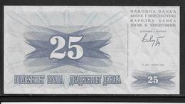 Bosnie-Herzegovine -  25 Dinara - Pick N°11 - Neuf - Bosnië En Herzegovina