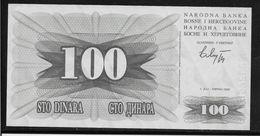 Bosnie-Herzegovine -  100 Dinara - Pick N°13 - Neuf - Bosnië En Herzegovina