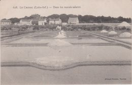 Loire  Atlantique : LE  CROISIC :  Marais  Salant , Sel - Le Croisic