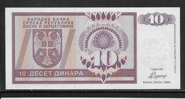 Bosnie-Herzegovine -  10 Dinara - Pick N°133 - Neuf - Bosnie-Herzegovine