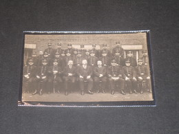 LIEGE (?) Personnel D'un Commissariat De Police Circa 1920 - Police