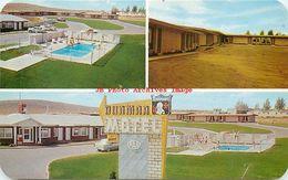 279013-Wyoming, Evanston, Dunmar Motel, Lincoln Highway, Multi-View, Dexter Press No 35006-B - Evanston