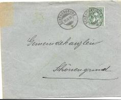75 - 55 - Enveloppe Avec Superbes Cachets De Schönenegrund 1906 - 1882-1906 Armoiries, Helvetia Debout & UPU