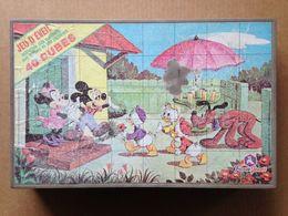 Disney - Jeu De Cubes - Années 80 - Autres Collections
