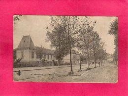 92 Hauts De Seine, Chaville, Les Ecoles Et Le Carrefour Du Puits-sans-Vin, 1903, () - Chaville