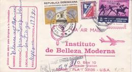 AIRMAIL INSTITUTO DE BELLEZA MODERNA RECOMMANDE.-TBE-BLEUP - Dominicaanse Republiek