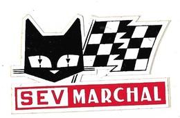 Autocollant - Automobile - Equipement Auto - S EV MARCHAL -  8 X 5 Cm - - Stickers