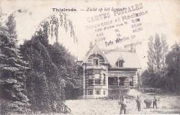 Thielrode Zicht Op Het Kasteel Circulée En 1905 Voir Verso - Temse