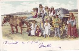 Salutari Din Romania Circulée En 1906  Voir Verso - Romania