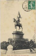 ~ JP ~  59  ~  LILLE   ~  Statue Jeanne D' Arc . Place Jeanne D' Arc - Lille