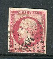 Rare N° 17B Cachet PC 3704 ( Alexandrie - Egypte ) - 1853-1860 Napoléon III.
