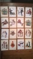 Lot De 16 Cartes Postales Norman ROCKWELL / 1 - Peintures & Tableaux