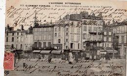 CLERMONT-FERRAND PLACE GILBERT GAILLARD ET ENTREE DE LA RUE FONTGIEVE - Clermont Ferrand