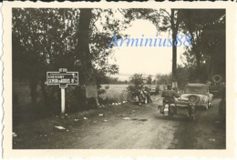Campagne De France 1940 - Wehrmacht Im Vormarsch - Semur En Auxois - Chevigny - Champ-d'Oiseau - Route De Semur - Guerre, Militaire