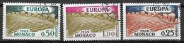 MONACO 571 à 573  Oblitéré EUROPA Avec Gomme - Usati