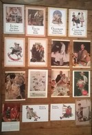 Lot De 16 Cartes Postales Norman ROCKWELL / 2 - Peintures & Tableaux