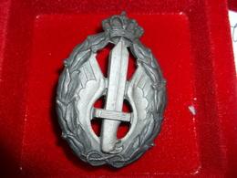 Regia Aeronautica Distintivo Per Azioni Di Guerra E Combattimento - 1939-45
