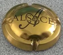 Capsule Muselet Crémant Alsace Dorée - Mousseux