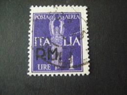 REGNO -1942,  Sass. N. 15, POSTA MILITARE P. A., L. 1 Violetto, Usato Garantito TTB - 1900-44 Vittorio Emanuele III