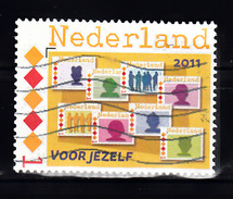 Nederland 2011 Nvph PQ6, 2768, Variant: 8 Voor Jezelf, Persoonlijke Zegel - Oblitérés