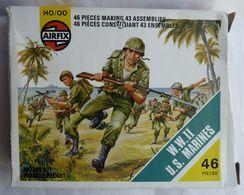 BOITE Blanche 3è Modèle AIRFIX WWII US MARINE Manque 1 Pièce NON GRAPPEE No Atlantic Esci. - Armee