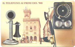 San Marino - 100 ° Anniv. Del Telefono - 4€, 05.2004, RSM-103 - 6.000ex, Mint - Saint-Marin