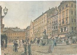 Wien, Neuer Markt. Rudolf V. Alt - Grinzing