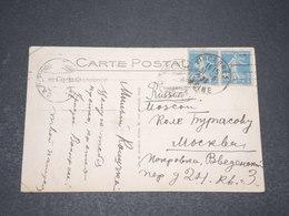 FRANCE - Carte Postale De Nice Pour Moscou En 1923 - L 15244 - Lettres & Documents