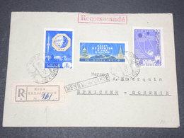 U.R.S.S. - Enveloppe En Recommandé De Riga Pour La Suisse En 1959 - L 15245 - 1923-1991 URSS