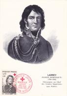 Carte-Maximum FRANCE N° Yvert 1434 (LARREY) Obl Sp 1er Jour Croix-Rouge (Ed PR) - 1960-69