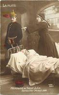 - Themes - Ref-A465- Guerre 1914-18- Heroïsme De Soeur Julie - Sante - Croix Rouge - Gerbeviller - Meurthe Et Moselle - - Patriotiques
