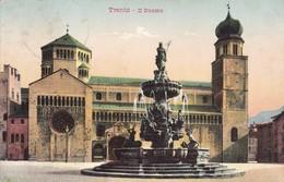 ITALY L'ITALIE. TRENTO. IL DUOMO. STENGEL & CO. CIRCULEE TO FERRARA-TBE-BLEUP - Trento