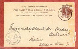 P 8 Koenigin Viktoria, Zudruck Bank Of Australasia, London Nach Berlin, Bestellgangstempel 1892 (48732) - Briefe U. Dokumente