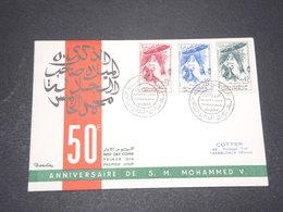 MAROC - Enveloppe FDC EN 1959 , Mohammed V - L 15253 - Maroc (1956-...)