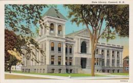 New Hampshire Concord The State Library Curteich - Concord