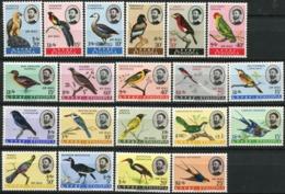 ETHIOPIA 1962 1963 1966 1967 Birds Fauna MNH - Etiopía