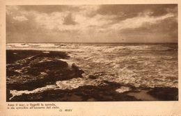 1923   CARTOLINA  VIAGGIATA - Filosofia & Pensatori