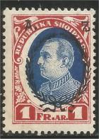 120 Albanie President Ahmed Zogu MH * Neuf CH (ALB-156) - Albania