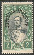 120 Albanie 1928 Roi King Zog Surcharge MH * Neuf CH (ALB-236) - Albania