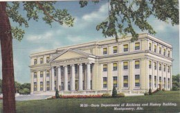 Alabama Montgomery State Department Of Archives and History Buil