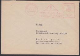 Germany East Holzhausen Sqchsen DDR AFS 1952 Mitteldeutscher Feuerunsgsbau - [6] Democratic Republic