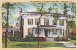Alabama Montgomery First White House of The Confederacy Curteich