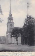 Massachusetts Newburyport First Presbyterian Church Erected 1756 Rotograph 1909 - Unclassified