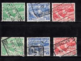 Train, Eisenbahn, Locomotive, Railway: Belgie Spoorwegzegels - Postpakket; 1945 Nr SP 288-290 + Serie A 288 - 290 - Treinen